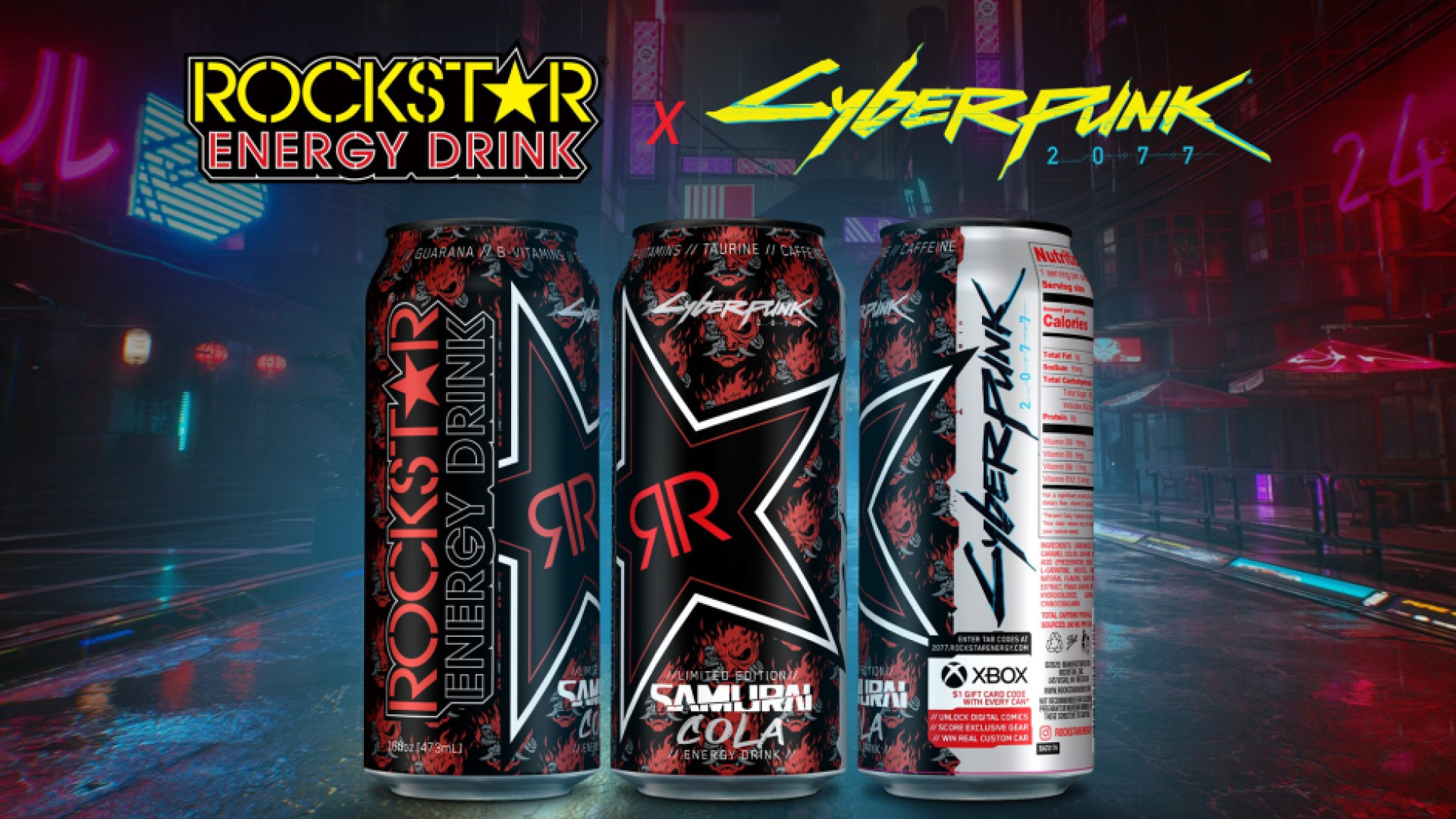 CD Projekt Red and Rockstar Energy Partner