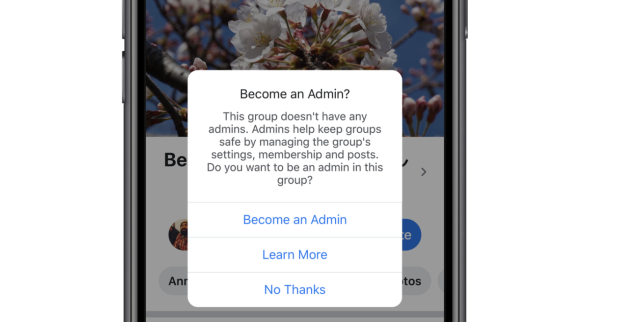 In case a group's only admin leaves, the ongoing company will suggest the role for some group members. If no-one accepts, the ongoing company will archive the group once and for all.