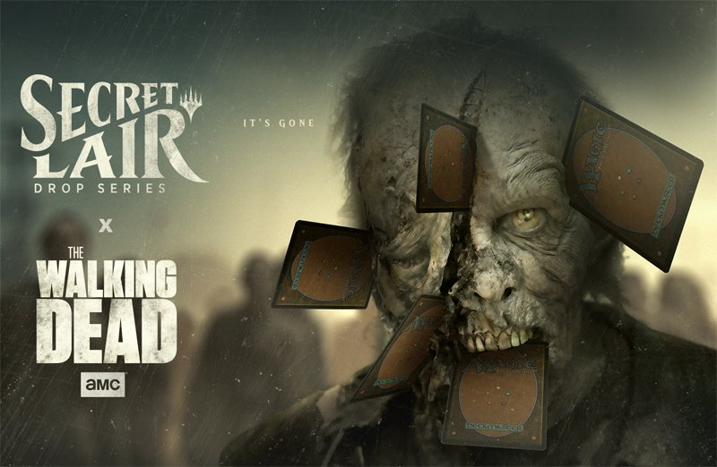 First Look: The Walking Dead Arriving at Magic the Gathering