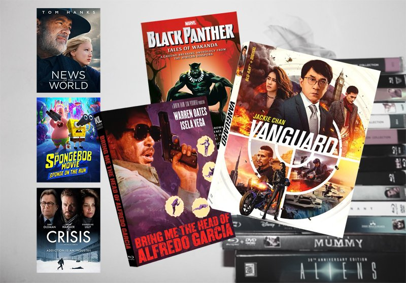 March 9 Blu-ray, Digital and DVD Releases